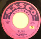 "THE CRESCENDOS ""Oh Julie"" 1957 NASCO R&B 45"
