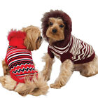 Dog Sweater Hoodie Clothes Clothing Striped