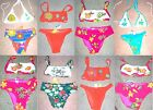 Hand Appliqued & Beaded Swimsuits Sz P,M,L ~ Stunning!