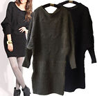 d20 Cable knit soft Loose Boho sweater dress