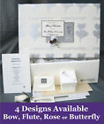 PERSONALISED 25th Silver Anniversary Keepsake Box + Extras A6