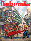 "091.Cuban Quality Design poster""Long gone Broom Seller""Havana Vendor. Decor"