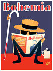 "356.Cuban Quality Design poster""Blind Man reading Bohemia.Marti""Funny!"