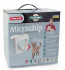 PETSAFE PETPORTE MICROCHIP CAT FLAP DOOR MICRO CHIP - STOP STRAY CATS - WHITE