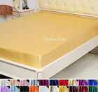 100% Silk Fitted Sheet 19MM Silk Fitted Sheet Twin Full Queen King Cal King