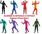 Festival Stag Night Fun Full Body Lycra Skinz Skin Tight Fancy Dress Party Suit