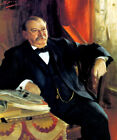 GROVER CLEVELAND USA PRESIDENT PORTRAIT AMERICAN PAINTING REPRO
