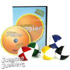 5 x 120g thuds juggling balls with white + instructional Juggling DVD deal