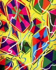 1620 Colorful kites quality POSTER. Multicolor Decorative Art.DESIGNERS buy here