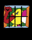 1764 Elephant fist trunk in prison Psychedelic POSTER.Fun Wall Decorative Art.
