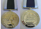FULL SIZE NAVY LONG SERVICE AND GOOD CONDUCT MEDAL - RN LS&GC COPY MEDAL