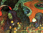 "Vincent Van Gogh- Memory of the Garden at Etten - 20""x26""   on Canvas"