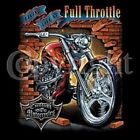 FULL THROTTLE CHOPPER BIKER LONG SLEEVE T SHIRT M TO 4X