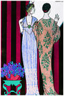 3021 Two hindu fashion ladies POSTER.Nouveau Home bedroom decor.Interior room