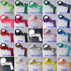"1 Roll 25 Yards 1.5"" 38mm Satin Ribbon Craft Bow Wedding Decor Hot Colors U Pick"