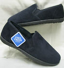 Mens Clarks King Roy Navy Slipper