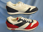 MENS TRAINERS (ELLESSE 117(M)) LEATHER/TEXTILE UPPERS