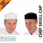 Chefs Skull Cap - Mens/ladies Professional Catering Clubber,cooks,butchers Hat