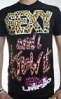 LMFAO sexy and i know it party rock LEOPARD  print  MENS FULL COLOUR T-SHIRT