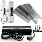COOL TUBE with XL WING - iPower DIMM  600w 600 watt HPS MH Grow Light System Kit