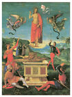 Decor Poster. Fine Graphic Art. The Power of Angels. Religious Wall Design 1381