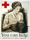 Decor Poster. Help American Red Cross Fine Graphic Art. Home Wall Design 1414