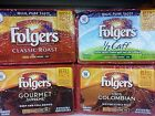 Folgers Ground Coffee Refills Packs Light Medium Dark Roasts ~ Pick One