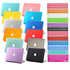 """2014 Rubberized Hard Case +Keyboard Cover for Macbook Pro 13/15"""" Air 11/13""""inch"""