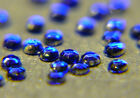 DARK BLUE Rhinestones acrylic gems 2mm flat back nail art cards glitter tips