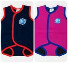 NEW Splash About BABY WRAP Wetsuit Navy or Pink - Warm swimming