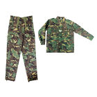 Kids Boys Army Soldier Camo Clothing - Combat Trousers & Soldier 95 Jacket