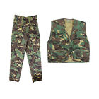 Mil-Com Kids Army Camo Clothing - Combat Trousers & Action Vest