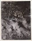 1943 U.S. Air Force Bombs Nazi Airdrome at Le Bourget, France - Army Photograph