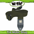 """Ernie Ball Polypro Olive Green Guitar Strap - 2"""" Wide - Length Adjustable - New"""