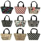 Lunch picnic Carry Tote Bag Purse zipper organize Twenty-six Styles Choose Yours