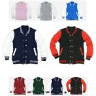 NEW VARSITY COLLEGE LETTERMAN Primium Cotton JACKET SCHOOL Uniform Jumper Jersey