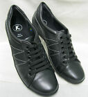 Ladies K by Clarks Fine Move Black leather combi lace up shoes EE Fittings