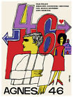 Agnes 46 film Decoration movie Poster. Graphic Art. Interior movie Design 3004
