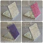 Sparkling Crystal Square Compact / Handbag Mirror Made With SWAROVSKI ELEMENTS