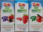 Dole Squish'ems! Applesauce Squeezable Apple Fruit Snack Packs ~ Pick One