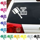 Protected by thor decal norse god Avengers sticker graphic