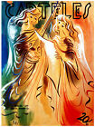 """160.Cuban Quality Design poster""""Gorgeous Angels Sing in Golden Heaven"""""""
