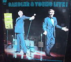 SANDLER & YOUNG LIVE  RECORD LP  SIGNED