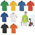 Plain Zip Coolon Dry fit Polo Golf tshirts Casual Sports wear Top Tee Shirt 101