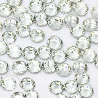 USA  Seller --- Clear Rhinestones Flatback 14-facet  ( High Quality )
