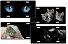 CUSTOM PERSONALIZED CAT LICENSE PLATE - ADD ANY TEXT FREE