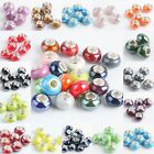 Wholesale Mix-Color Ceramics Porcelain Loose Spacer European Bead Charm Findings