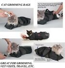 Cat Grooming Nail Clipping Bathing Bath Bag NO BITE SCRATCH Restraint System*NEW