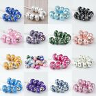 Wholesale Crystal Polymer Clay European Loose Beads Charm Findings Fit Bracelets