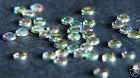 IRIDESCENT Rhinestones acrylic gems 2mm flat back nail art cards glitter tips